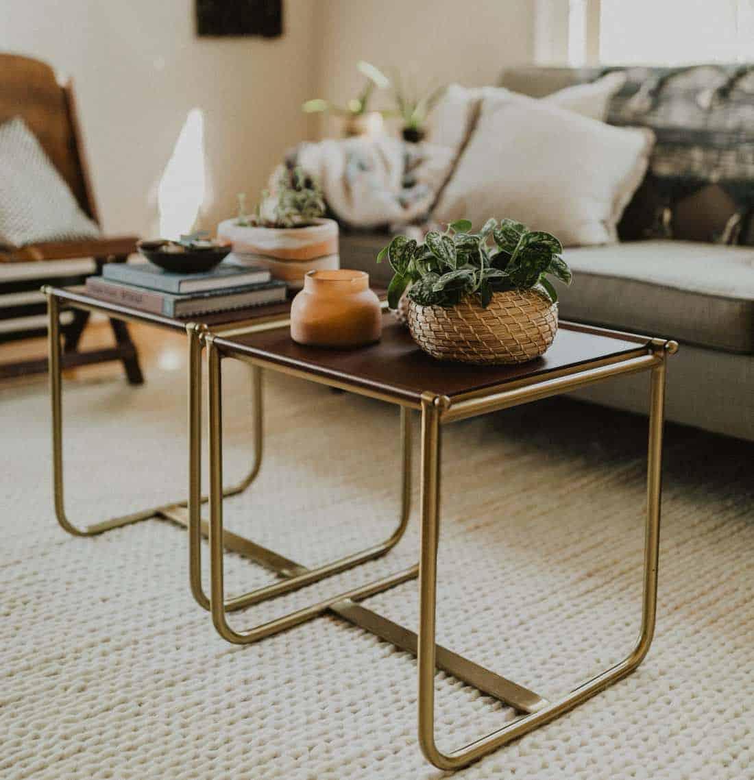 19 idées de table basse pour votre intérieur  Les objets de la maison