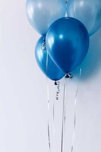 deco table anniversaire ballons